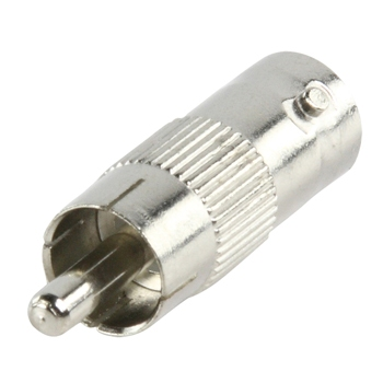 Tulp/ RCA plug naar BNC kontra plug adapter