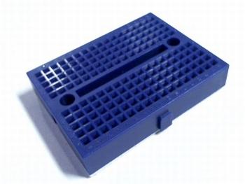 Breadboard mini blauw