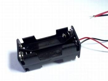 Batterijhouder 4 x AAA draadaansluitng