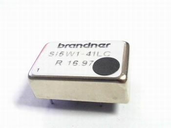 SI5W1-41LC 24VDC naar 5VDC converter Brandner