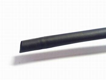 Krimpkous zwart 2mm per meter