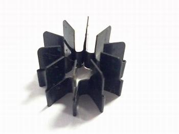 Koelster voor TO5 zwart