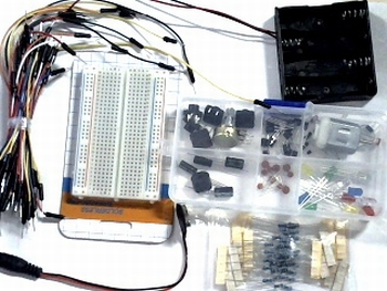 Electronica onderdelen pakket super