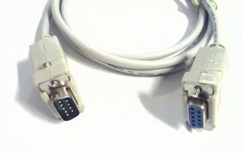 Seriële kabel 1,8 meter mannelijk/mannelijk