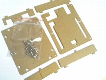 Plexiglas behuizing voor Arduino Uno