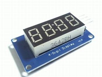 4 cijferig TM1637 LED display module