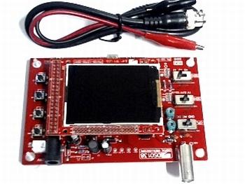 Oscilloscoop module met kleuren LCD display
