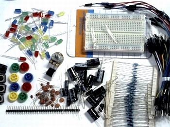 Electronica onderdelen pakket deluxe