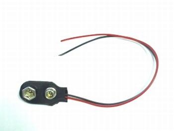 Batterijclip voor 9 volt batterij