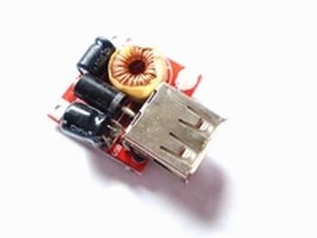 Zelfregulerende step down laadmodule input 7-16V output 5V