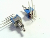 Schakelaar miniatuur haaks DPDT on/on
