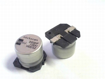 SMD electrolytic capacitor 220uF 100 V