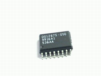 DS1267S-050 digitale potmeter 50K 256 steps SOIC16