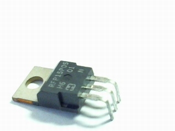 RFP15P05 Power mosfet