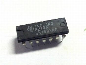 7495 shift register