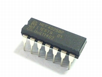HEF4025 Triple 3-input NOR Gate