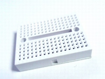Solderless white breadboard mini