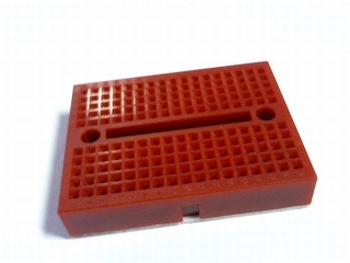Breadboard mini rood
