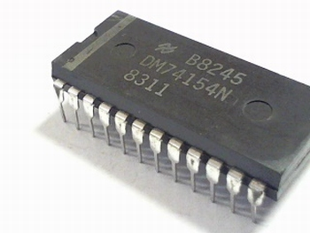 74154 4-Line To 16-Line Decoders/Demultiplexers