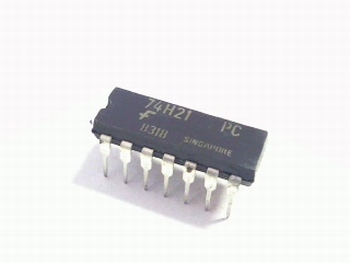 74H21 dual 4 input positive and gate