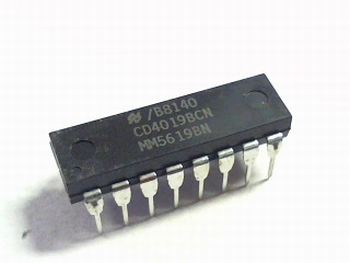 CD4019 Quad AND-OR Select Gate