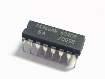 74368 Hex Buffer/Line Driver Inverting (3-State)