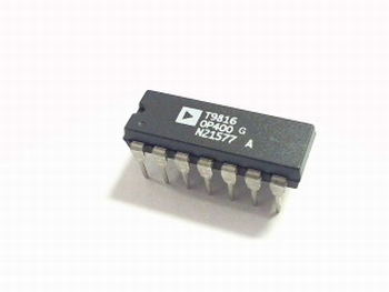 OP400 Quad Low Offset, Low Power Operational Amplifier DIP14