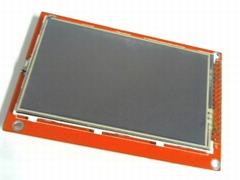 TFT display 3.5 inch met touchscreen en SD entry