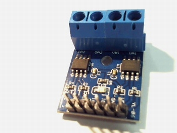 DC Steppermotor driver L9110S H bridge