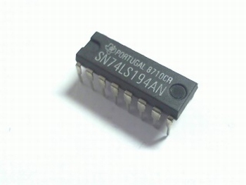 74LS194 4-bit Bi-directional Shift Register