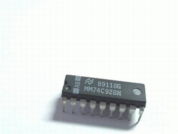 74C928  4-DIG. COUNTER MULTIPL. 7 SEGMENTS
