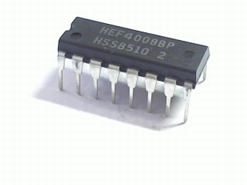 HEF4008 4-bit binary adder
