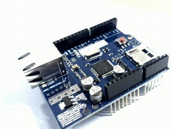 W5100 ethernet shield met SD entry