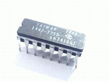 74195 4-Bit Parallel-Access Shift Register