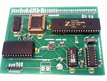 Z80 Retrocomputer buiding kit