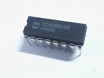 CD4049 Hex Inverting Buffer/Converter