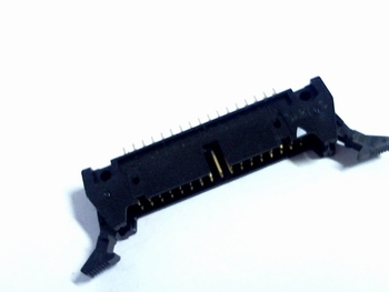 Header male connector 2x17 pins