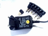 Universal power supply 600ma with 6 voltages