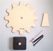 Building kit table clock gear